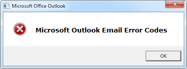 How To Fix Microsoft Outlook Error Code